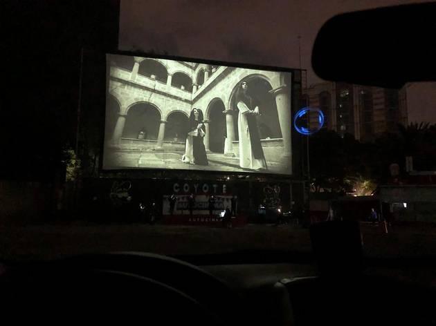 Ópera Cinema, Puccini, autocines, CDMX