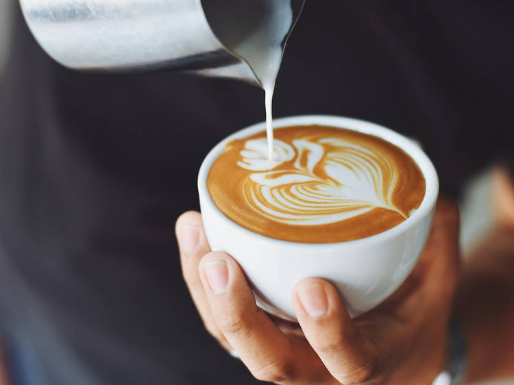 Get a barista-made coffee at Bulaccino café and go on a farm tour