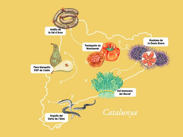 Calendari d'aliments catalans