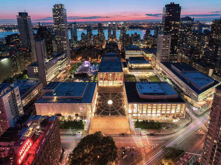 Outdoor performances at Lincoln Center