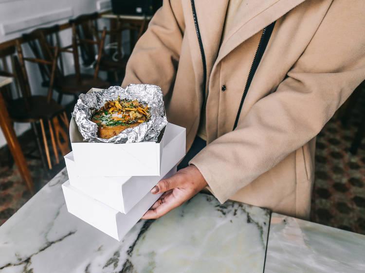 Restaurantes com entregas e take-away especiais