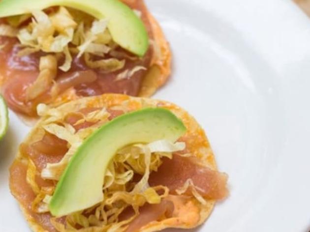 Las mejores tostadas de atún de la CDMX
