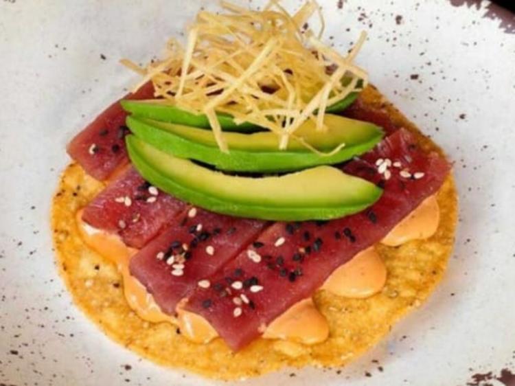 Tostada de atún, Baja Streetfood