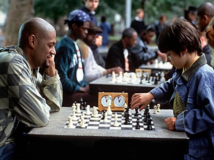 Luces, cámara, niñxs: Buscando a Bobby Fischer o cómo aprender de niñas y niños