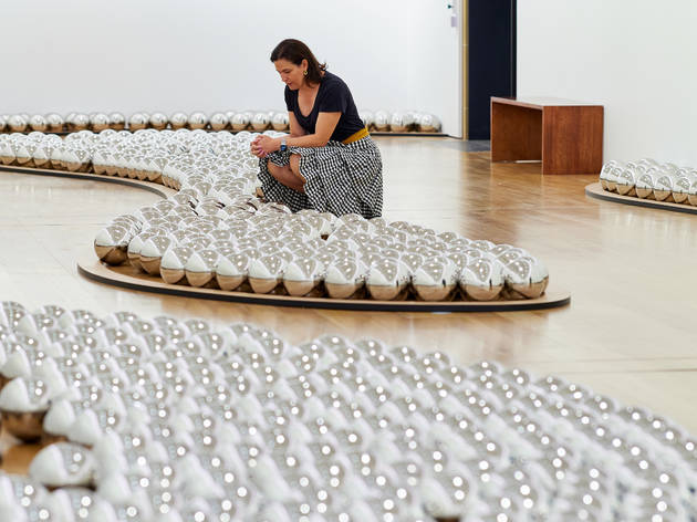 Win tickets to see Yayoi Kusama's 'Narcissus Garden' at Elizabeth Bay House