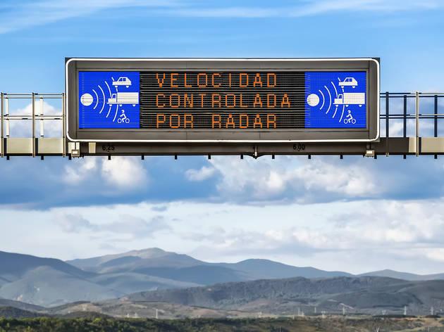 Control de velocitat amb radar