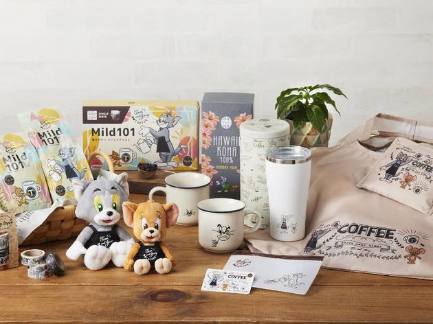 Tully's Coffee is releasing an exclusive Tom and Jerry collection this month