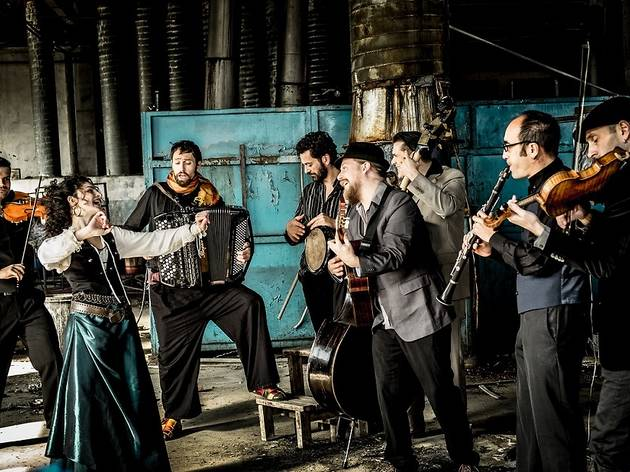 Barcelona Gipsy Balkan Orchestra, Palau de la Música Catalana