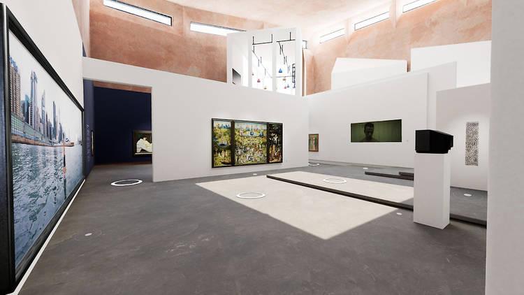 Virtual Online Museum of Art