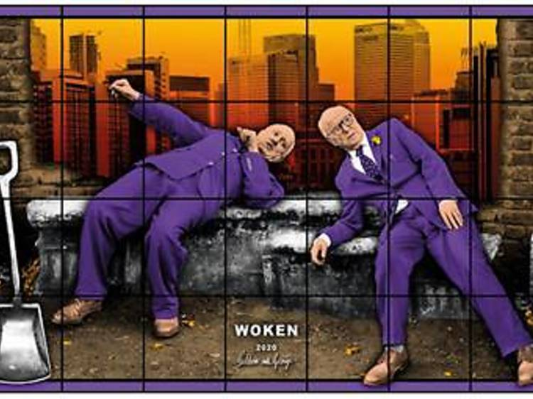 Gilbert & George's 'New Normal Pictures' show is online now