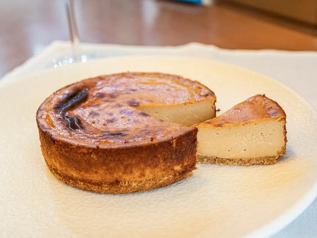 Pastís de formatge de cabra de Jon Cake