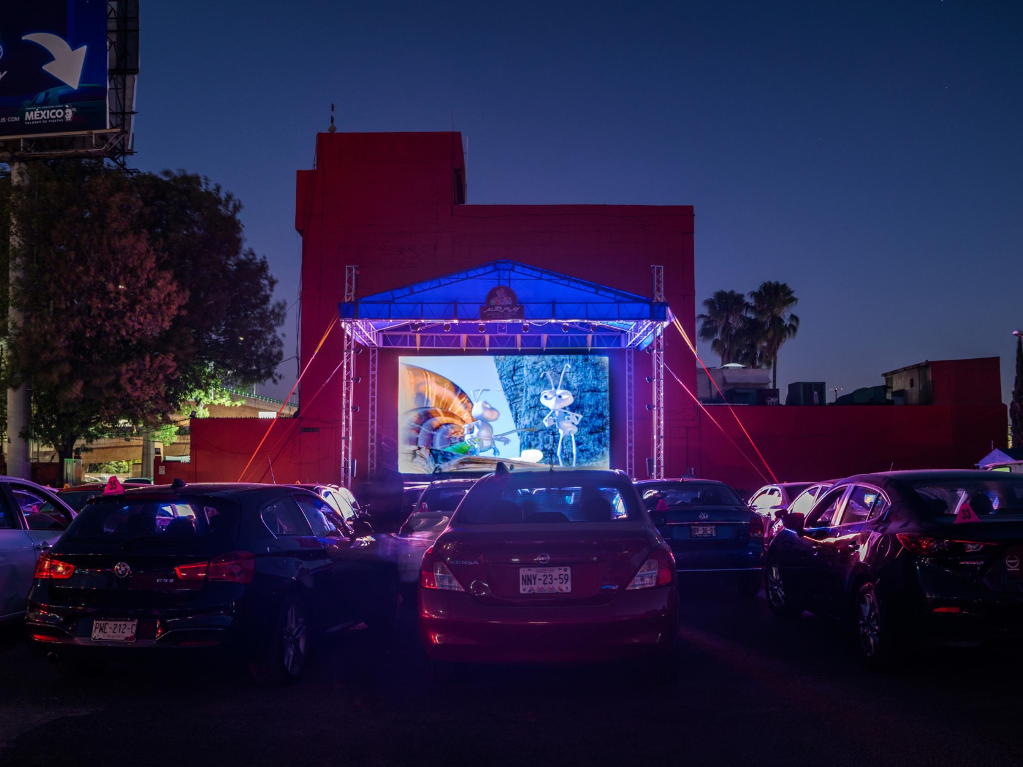 AUTO PLAY, el nuevo autocinema de Naucalpan