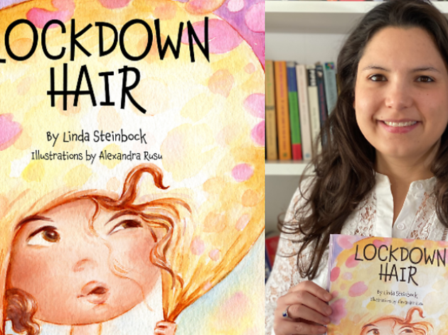 Linda Steinbock explores children's emotional response to the pandemic in her book Lockdown Hair