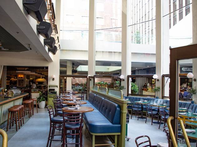 Matteo Downtown is officially open again with a new Italian piazza-inspired space