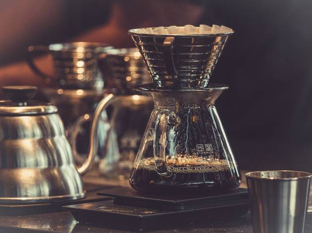 A Melbourne café is serving cups of Panama coffee for $198