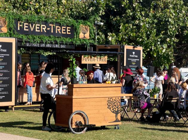 People at Fever-Tree G&T festival