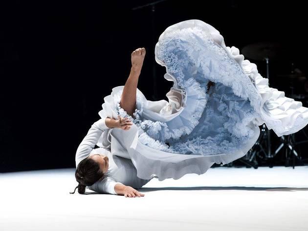 Rocío Molina en el espectáculo 'Caídos del cielo'