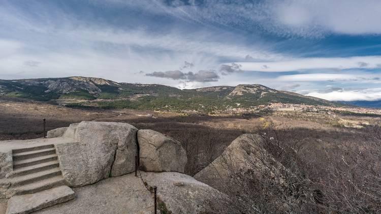 Silla Felipe II, bosque de la Herrería, San Lorenzo del Escorial