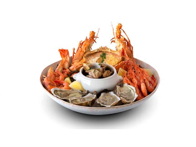 Restaurante, Peixes, Mariscos, Porto de Santa Maria