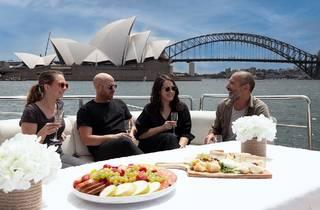 Sydney Opera House from a yacht