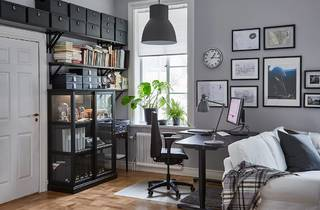 Ikea home office