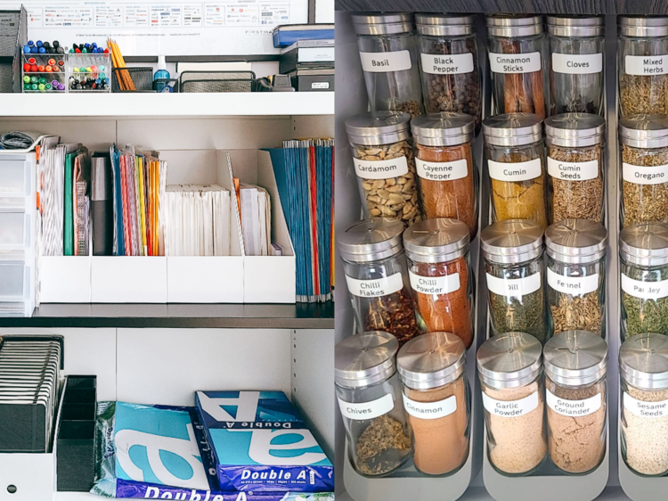 Declutter and organise