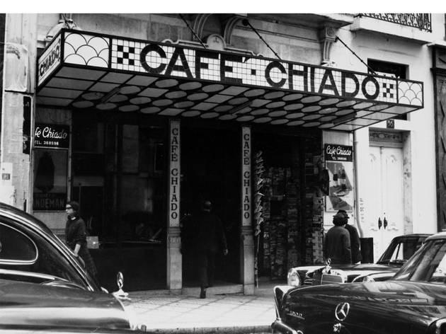 Pátio das Antigas, Lisboa Antiga, Cafe Chiado, Rua Garrett