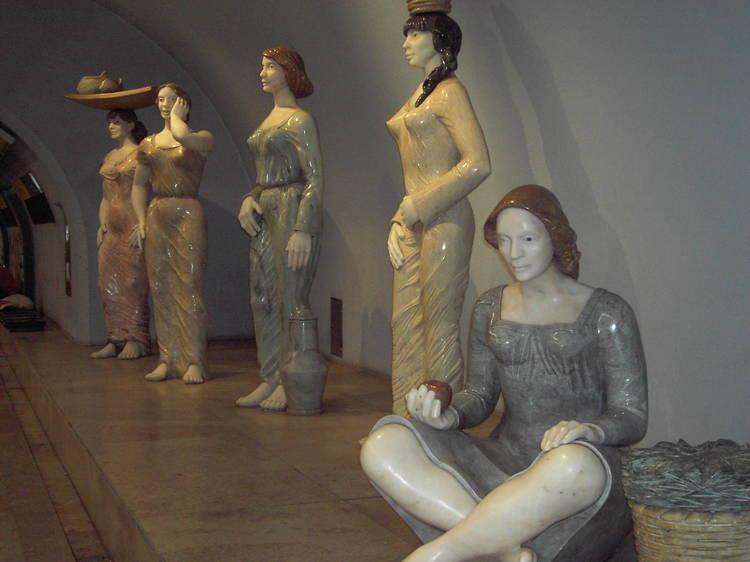 Roteiro pelas estátuas de mulheres em Lisboa