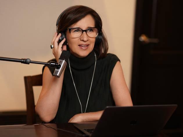 Adriana Pacheco de Hablemos, escritoras