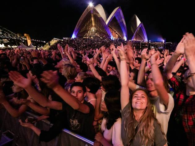 Opera House Forecourt concert