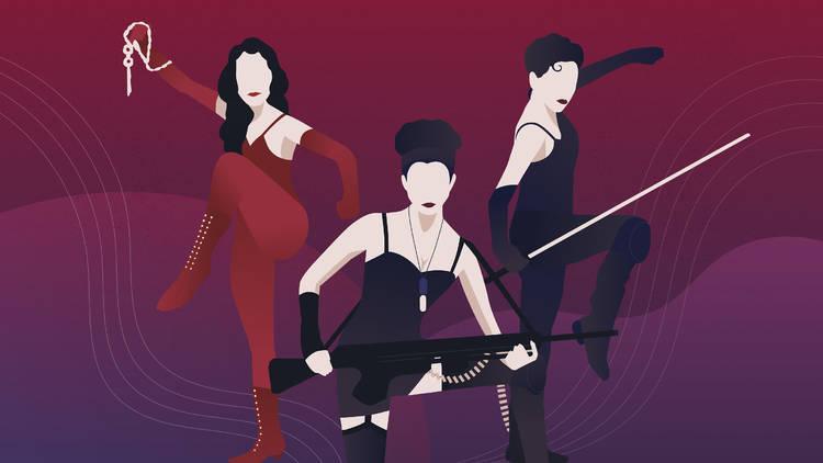 iconic heroines in HK films