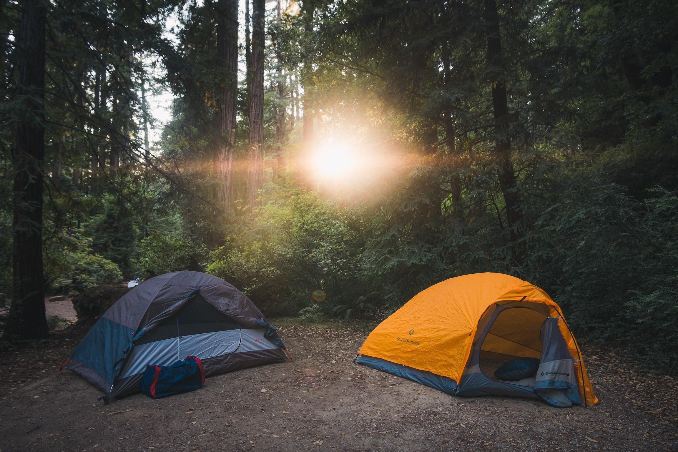tents, camping