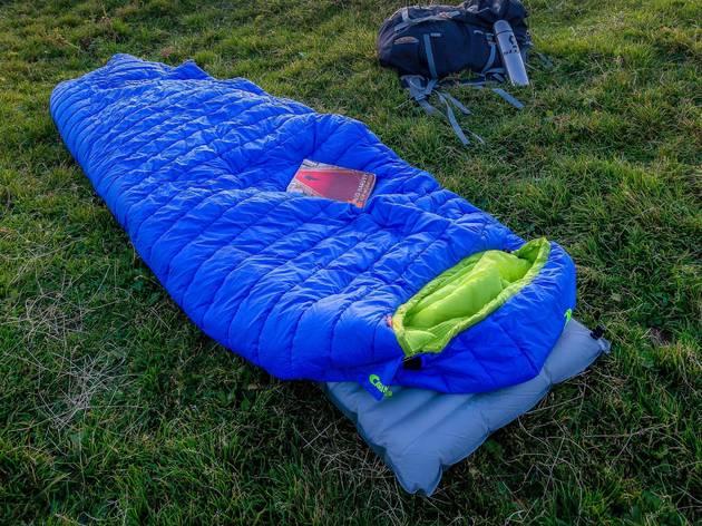 sleeping bags, camping