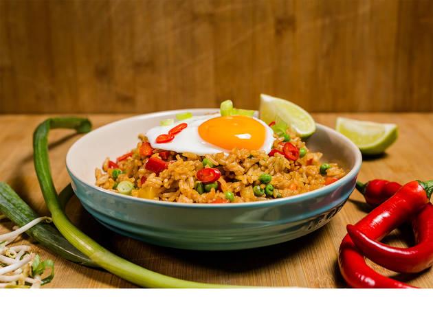 Academia Time Out, Workshop, Cozinhas do Mundo: Indonésia, nasi goreng