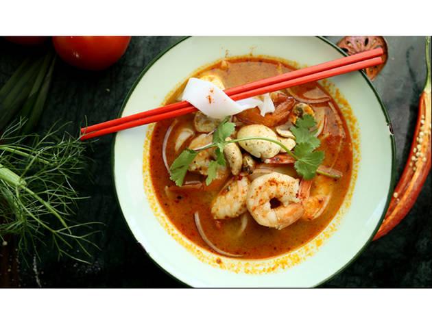 Workshop, Academia Time Out Market, Cozinhas do Mundo: Tailândia, tom yum