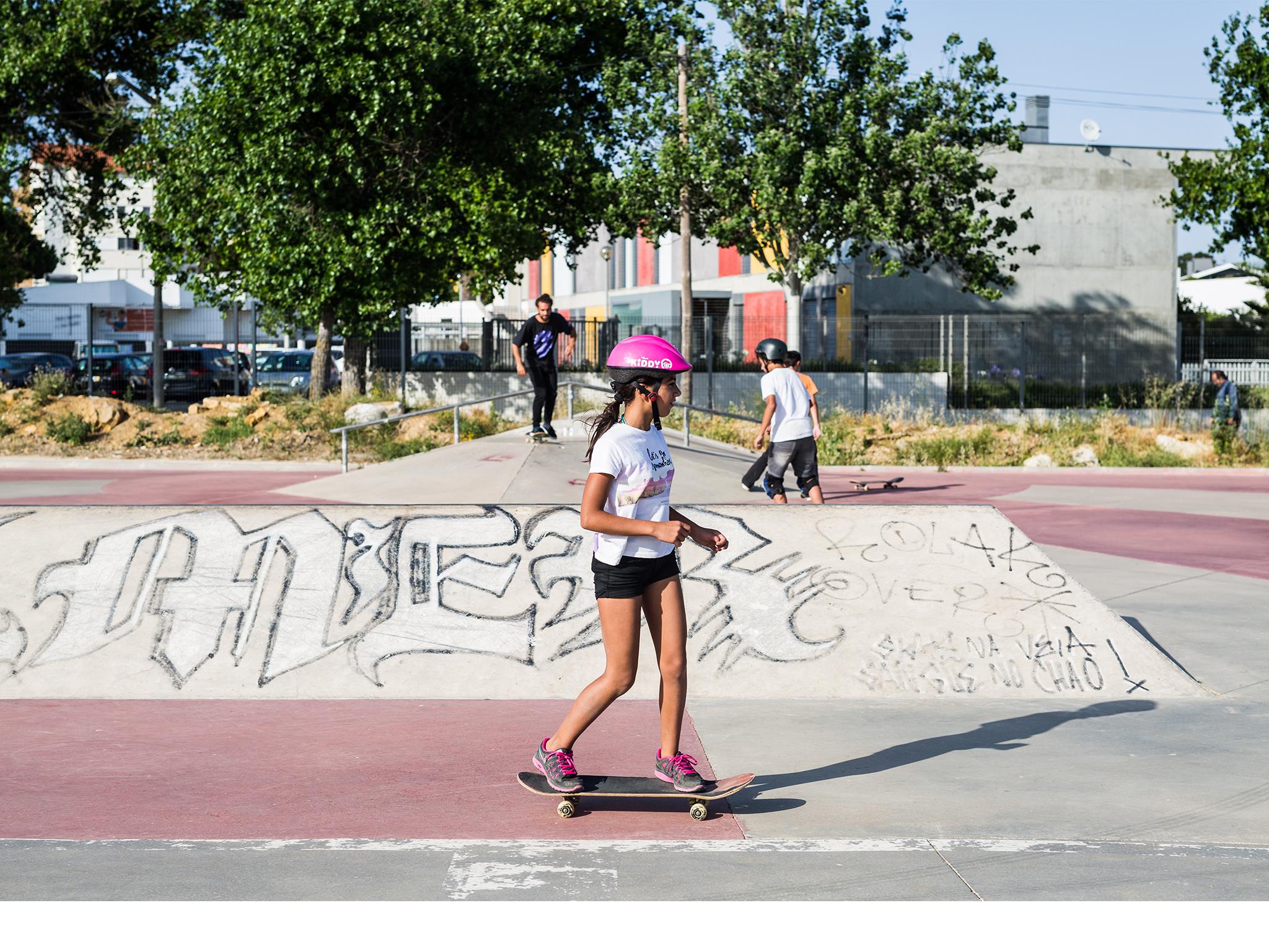 Skate, Park Gerações, Cascais