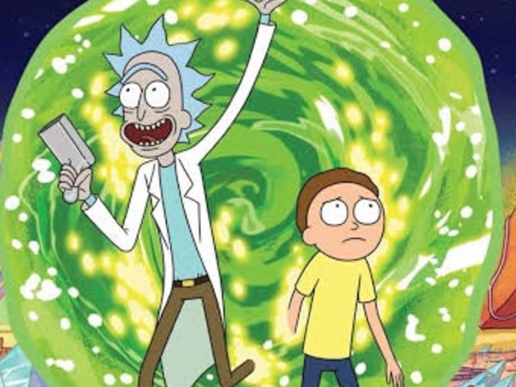 Rick y Morty, la Generación X y el paso del tiempo
