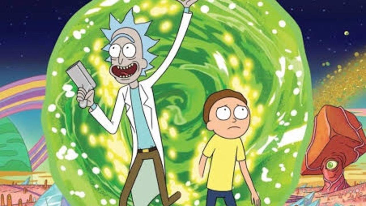 Cómic Rick y Morty
