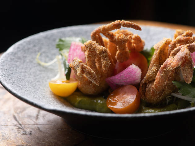 Kinship crispy soft shell crab
