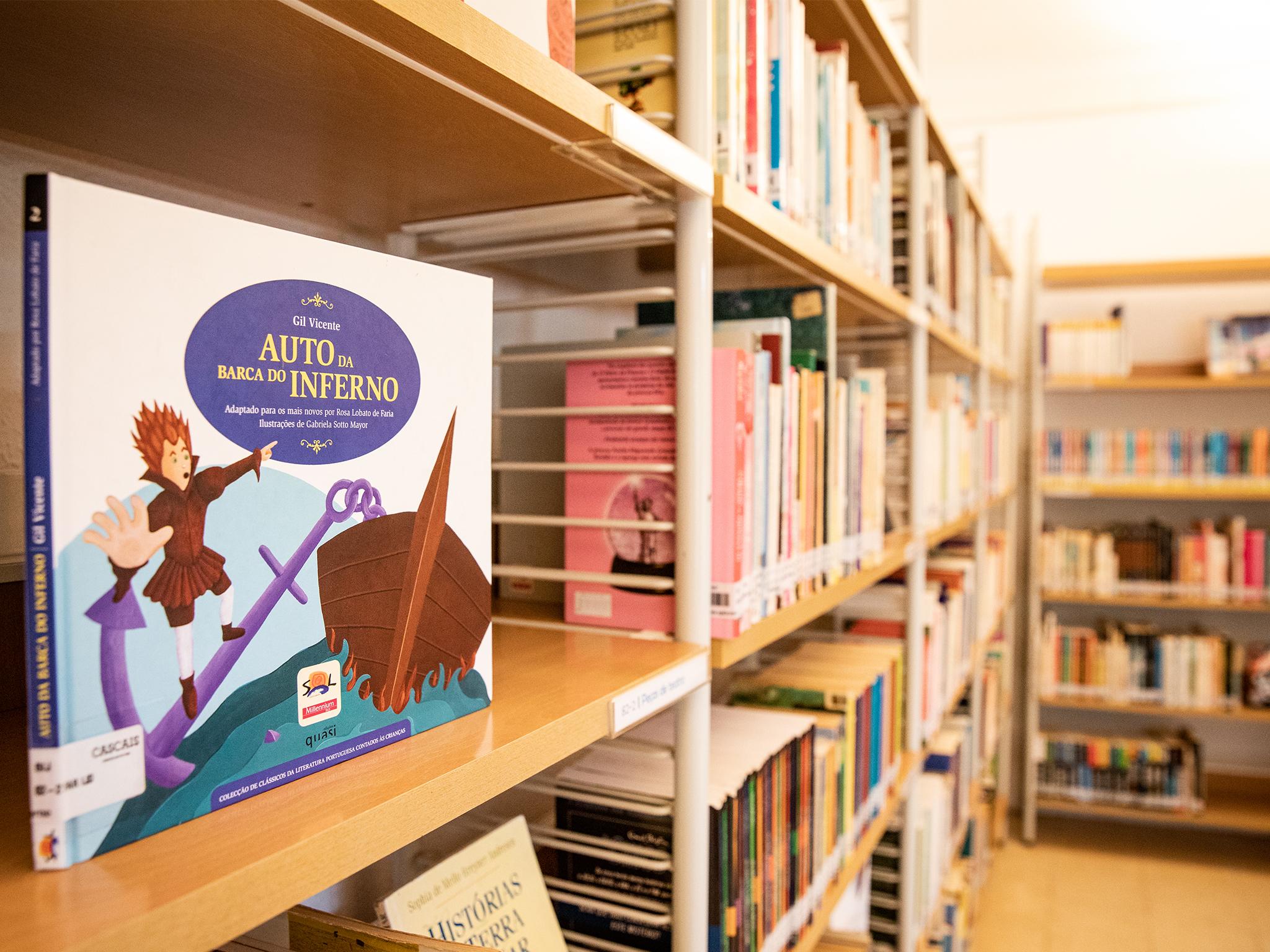 Biblioteca Infanto Juvenil, Parque Marechal Carmona, Cascais