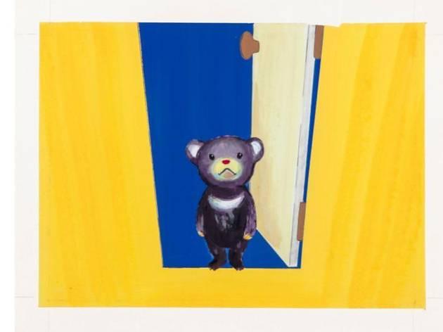 『よるくま』原画(偕成社、1999年)