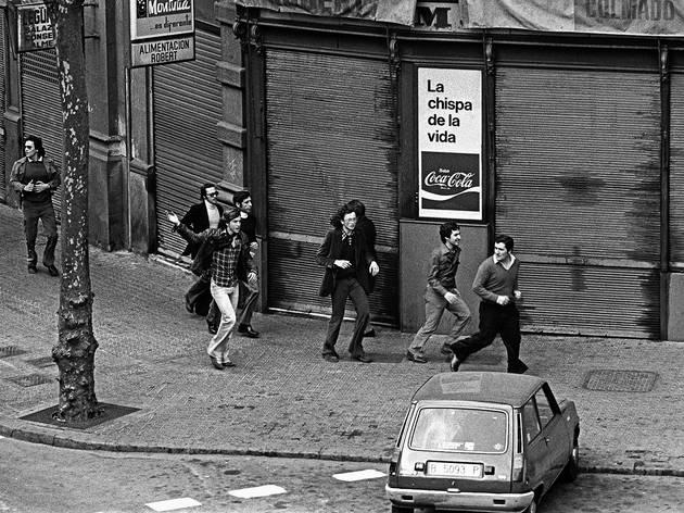 Manifestació proamnistia, 1976