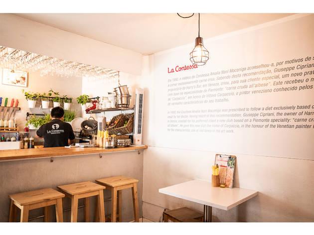Restaurante, Cascais, La Contessa