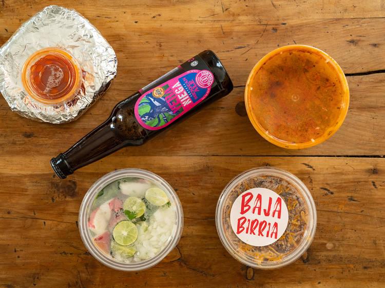 Baja Birria, la dark kitchen de birria estilo Ensenada en la CDMX