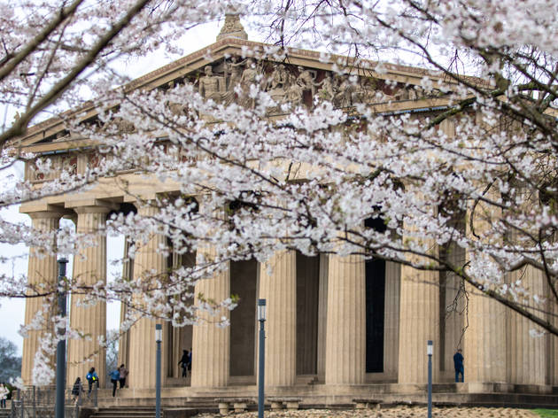 Nashville,,Tennessee,:,The,Parthenon,In