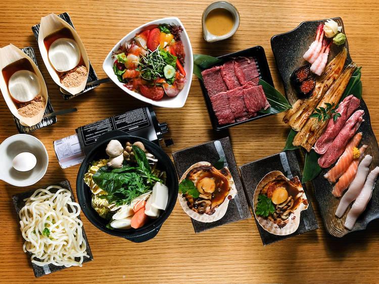 和民集團:20週年慶 Omakase 晚市套餐特典 $160 起