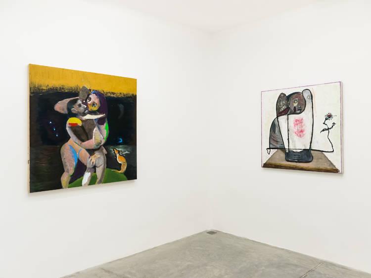 Coro mudo de nube y charco en Daniela Elbahara Gallery