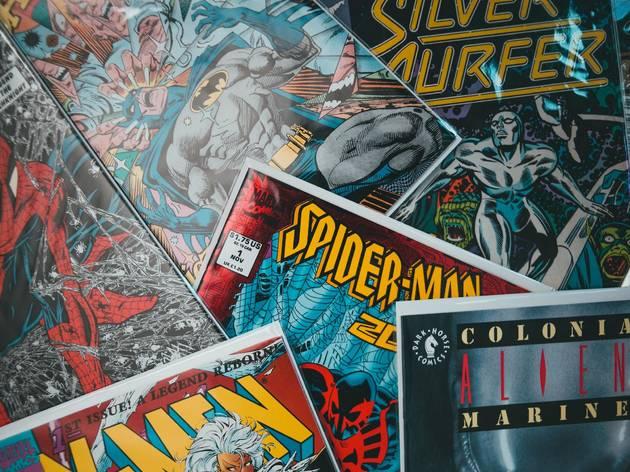 comics, comic books, x-men, spider-man, silver surfer, batman