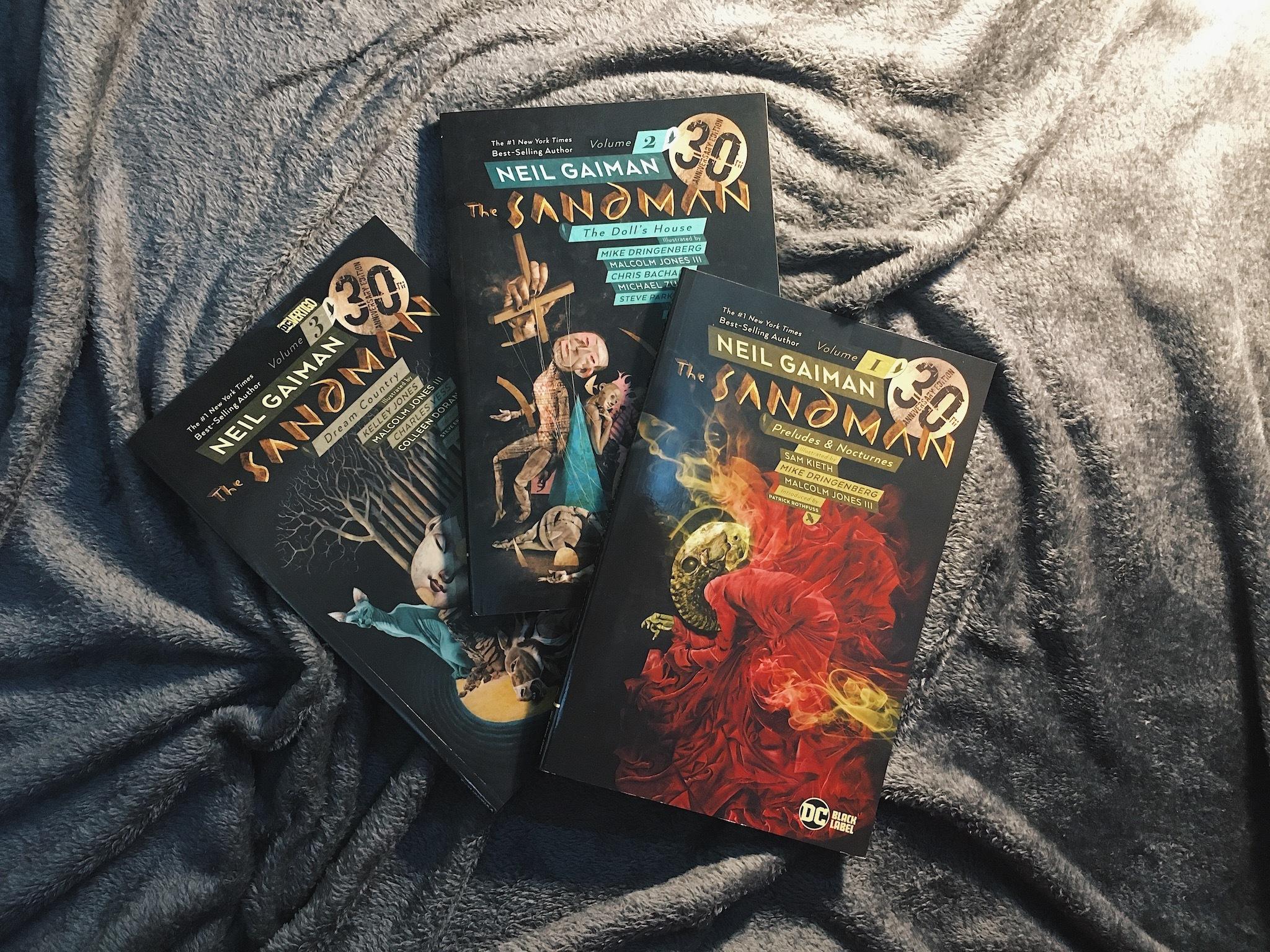 The Sandman, comics, graphic novels
