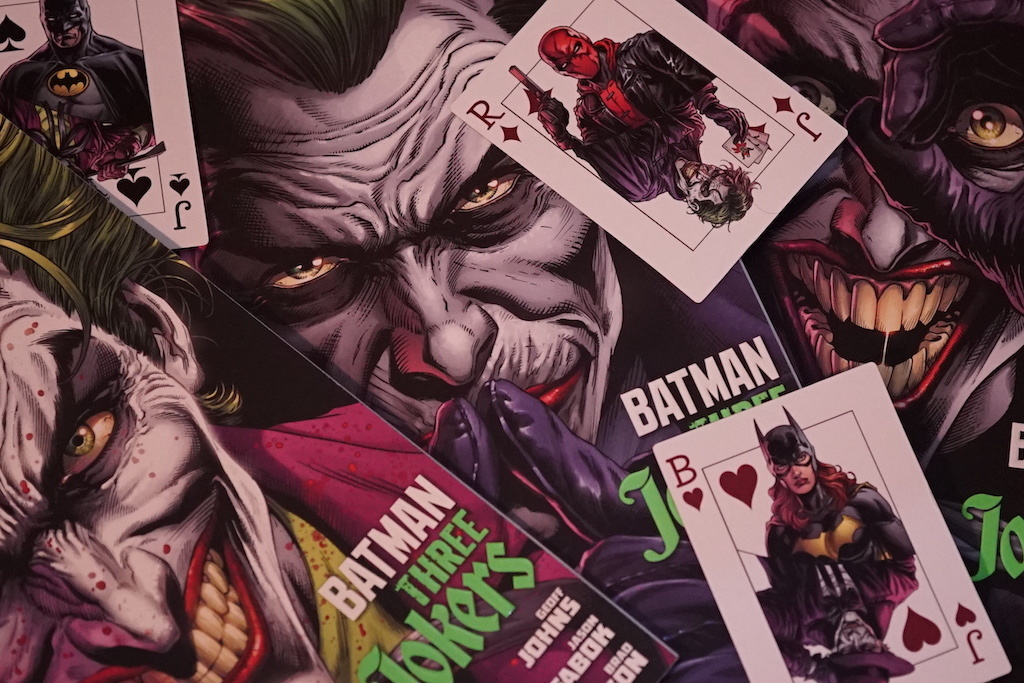 Batman: Three Jokers, comics